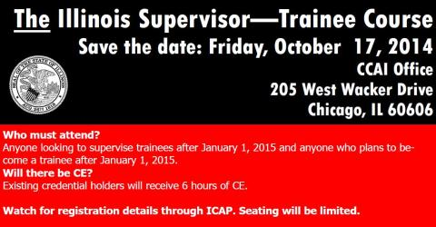 The Illinois Supervisor—Trainee Course